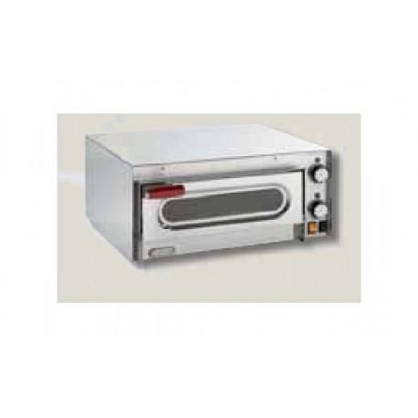Forno elettrico per pizza refrattario e luce interna for Cottura pizza forno elettrico