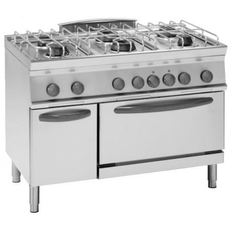 Cucina a gas con forno elettrico ventilato - Forno incasso a gas ventilato ...