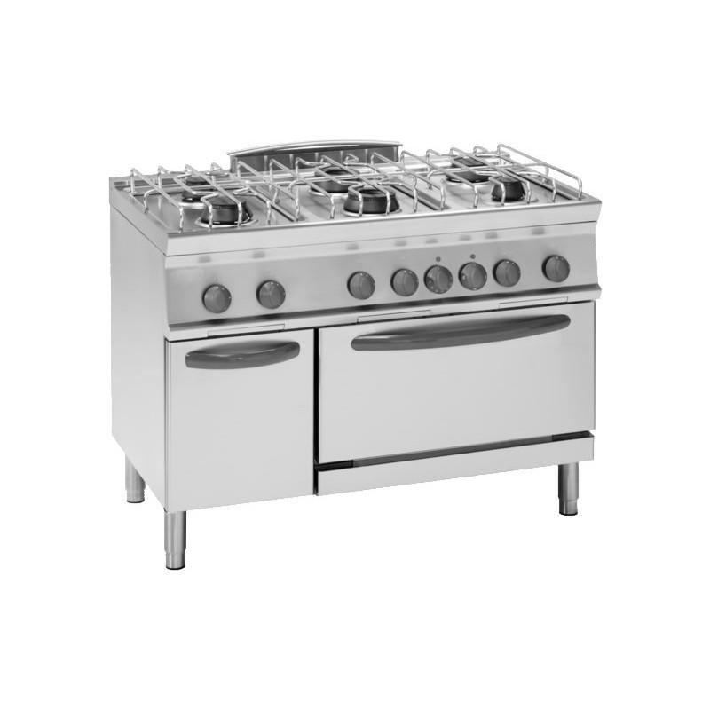 Cucina a gas con forno elettrico ventilato - Cucina con forno ventilato ...