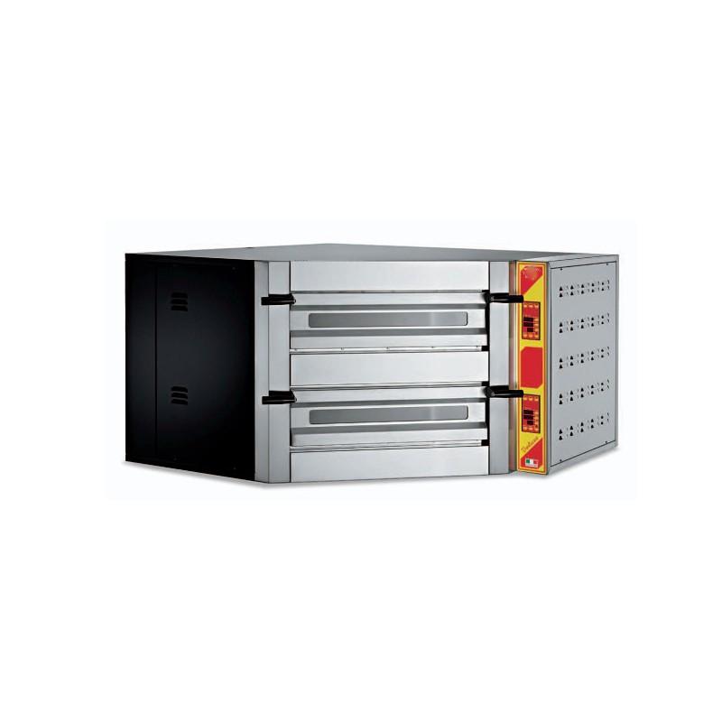 Forno elettrico per pizza camera doppia ad angolo macchine del gusto - Forno elettrico per pizze ...