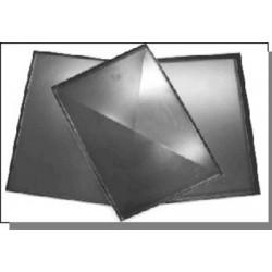 TEGLIE 60X40 PER PIZZA  (minimo nr 05 teglie) IN LAMIERA BLU CON DIAGONALI
