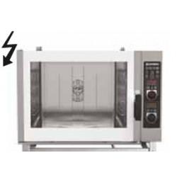 Forno elettrico per pasticceria misto con vapore diretto comandi manuali-Capacita' 5x(60x40)