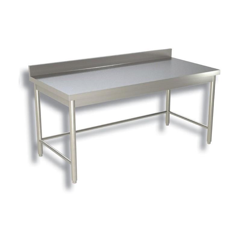 Tavolo con telaio e alzatina 110x60x90H-Macchine del Gusto