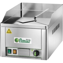 FRY TOP ELETTRICO FIMAR – piano liscio in acciaio cromato