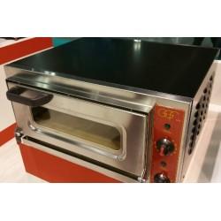 FORNO PIZZA MICRO CON PORTA IN VETRO FINO A 500°C