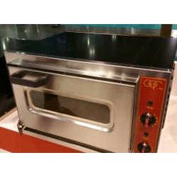 FORNO ELETTRICO PER PIZZA MICRO H18 CON PORTA IN VETRO FINO A 500°C