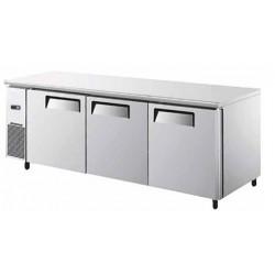tavolo refrigerato a tre porte