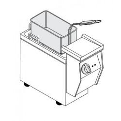 FRIGGITRICE ELETTRICA PROFESSIONALE DA BANCO 4 litri-2.2 Kw